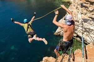men's sober living programs bungee jumping